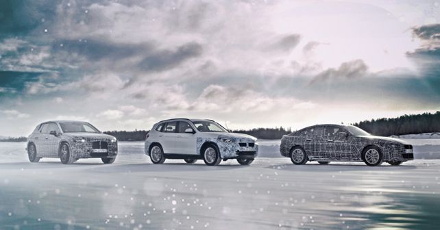BMW iNext, iX3 And i4 Prototypes