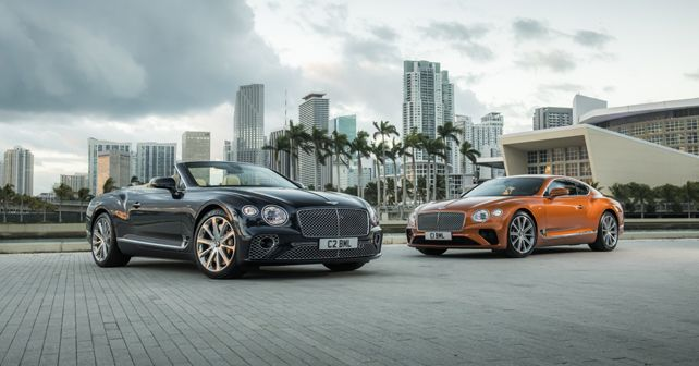 2019 Bentley Continental GT and GT Convertible V8