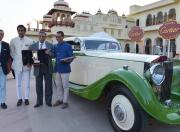 Best of Show Cartier Travel With Style 1935 Rolls Royce Phantom 2 Continental