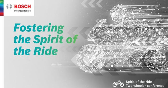 Bosch Spirit of the Ride Conference 2019