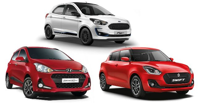 Ford Figo Facelift Grand I10 Swift Comparison M