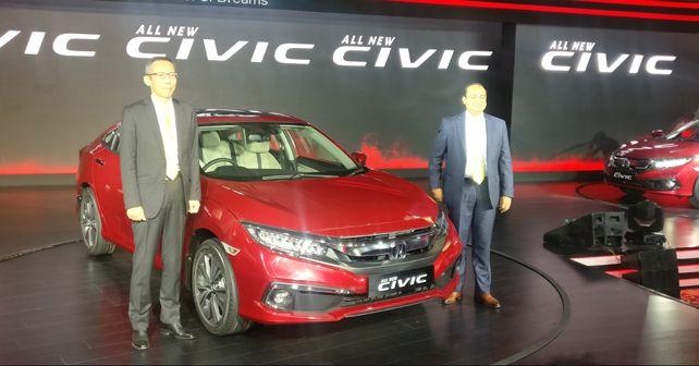 2019 Honda Civic India launch