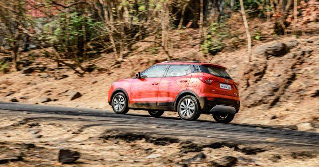 Mahindra XUV300 Petrol Motion Rear