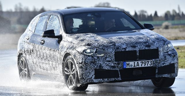 New BMW 1 Series Prototype