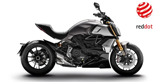 New Ducati Diavel 1260 Wins The Red Dot Design Award 2019