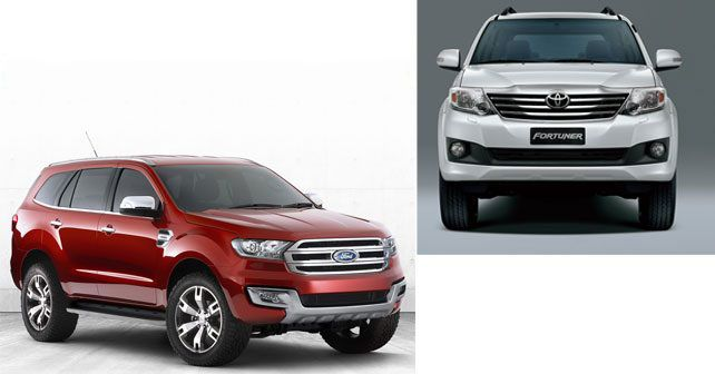 Ford Endeavour Vs Toyota Fortuner Comparison