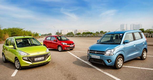 Hyundai Santro Vs Maruti Suzuki Celerio Vs Tata Tiago Amt