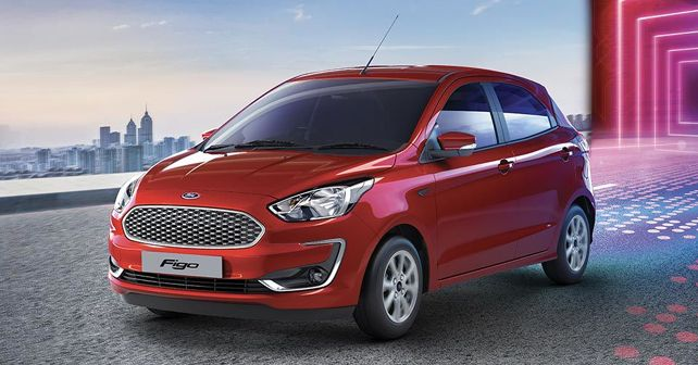 2019 Ford Figo face-lift front quarter
