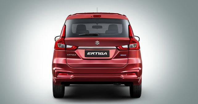 New Maruti Suzuki Ertiga Rear Static