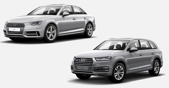 Audi A4 And Q7 Lifestyle Editions