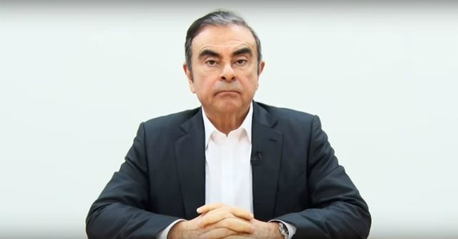 Carlos Ghosn Former Renault Nissan Chief M