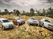 Ford Endeavour vs Isuzu MUX vs Mahindra Alturas G4 vs Toyota Fortuner