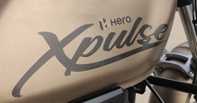 Hero XPulse 200T Fuel Tank Livery