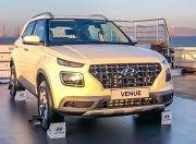 Hyundai Venue front three quarter