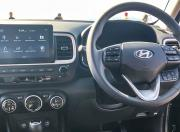 Hyundai Venue steering