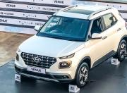 Hyundai Venue top angle
