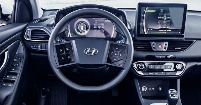 Hyundai Virtual Cockpit layout