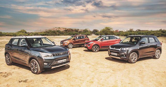 Mahindra XUV300 Vs Ford EcoSport Vs Maruti Suzuki Vitara Brezza Vs Tata Nexon