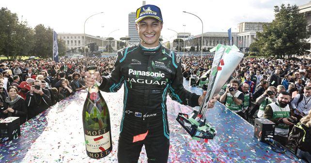 Mitch Evans PJR Rome E Prix