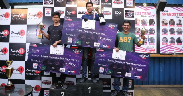 Smaaash Sky Karting Tournament Winner M