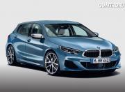 new BMW 1 series rendering