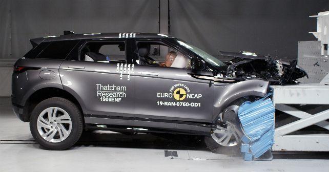 Range Rover Evoque 2019 Euro Ncap Test M