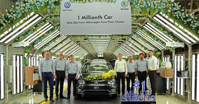 Volkswagen India One Million Cars