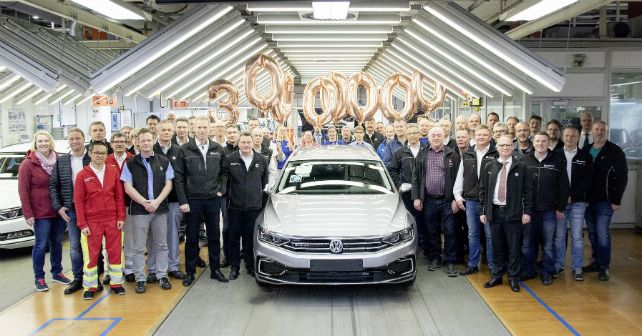 Vw Passat 30 Million Production Milestone M