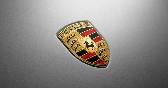 Porsche Bonnet Emblem