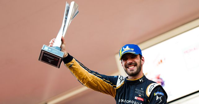 Jean-Eric Vergne takes his second victory at the Monaco E-Prix