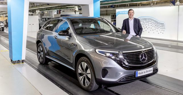 Mercedes-Benz EQC starts production in Bremen