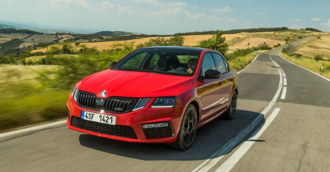 2018 Skoda Octavia RS 245 For India M13
