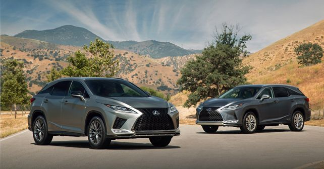 2020 Lexus RX 350 F sport and RX 450hL
