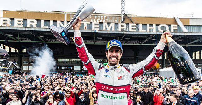 Lucas di Grassi wins the 2019 Berlin E-Prix