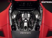 Ferrari F8 Tributo engine