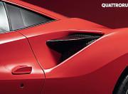 Ferrari F8 Tributo side air duct