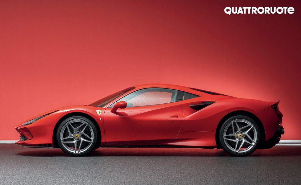 Ferrari F8 Tributo side profile