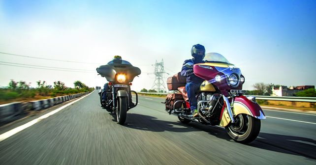 Harley-Davidson Street Glide Special vs Indian Chieftain Roadmaster Classic