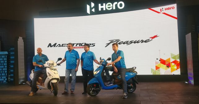 Hero Maestro Edge 125 And Pleasure+ Launch