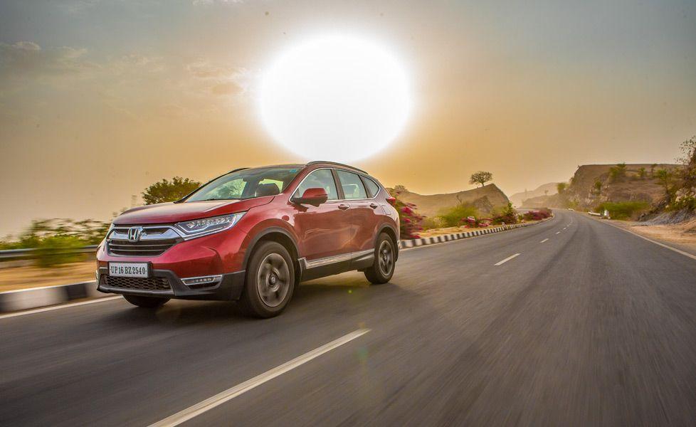 Honda CR V road trip