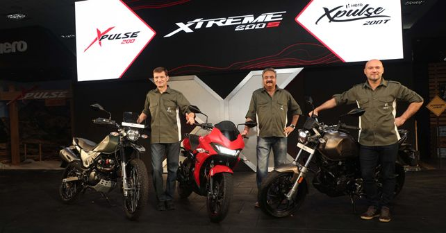 Hero Xpulse and Xtreme 200S launch