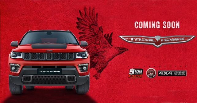 Jeep Compass Trailhawk India Teaser