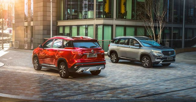 MG Hector Rear and Front Profile