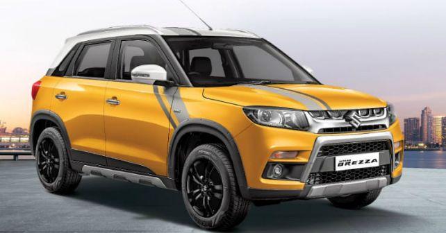 Maruti Suzuki Vitara Brezza Sports Limited Edition M