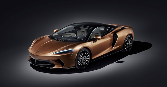 New McLaren GT Front Quarter Static