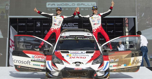 Ott Tanak And Martin Jarveoja Win Rally Chile