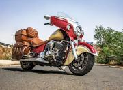 indian chieftain roadmaster classic front three quarter