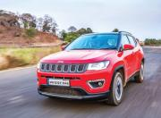 jeep compass limited plus front three quarter dynamic
