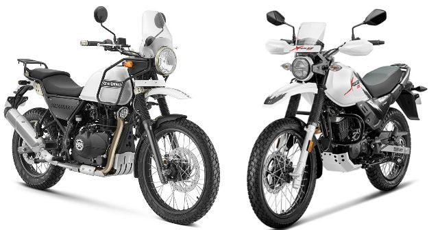Re Himalayan Vs Hero Xpulse Comparison