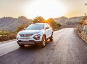 tata harrier front three quarter dynamic